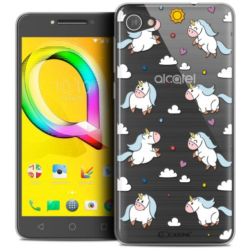 "Coque Crystal Gel Alcatel A5 LED (5.2"") Extra Fine Fantasia - Licorne In the Sky"