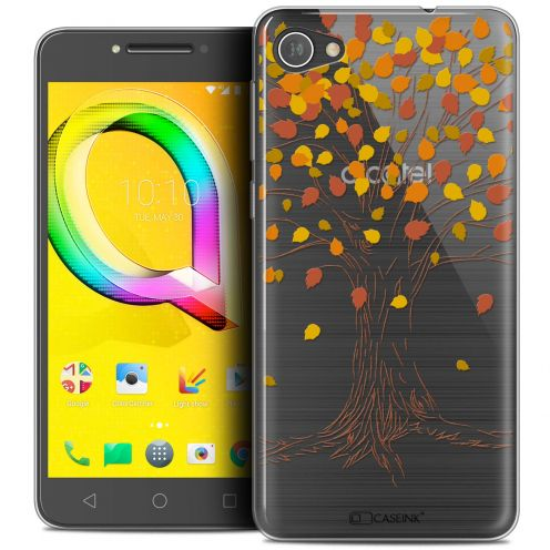 "Coque Crystal Gel Alcatel A5 LED (5.2"") Extra Fine Autumn 16 - Tree"