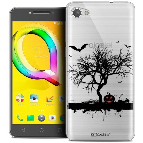"Coque Crystal Gel Alcatel A5 LED (5.2"") Extra Fine Halloween - Devil's Tree"