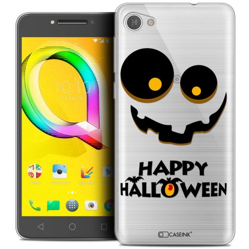 "Coque Crystal Gel Alcatel A5 LED (5.2"") Extra Fine Halloween - Happy"