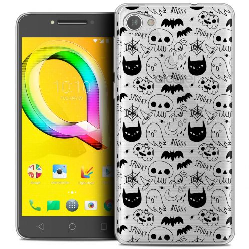 "Coque Crystal Gel Alcatel A5 LED (5.2"") Extra Fine Halloween - Spooky"