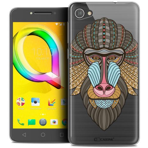 """Coque Crystal Gel Alcatel A5 LED (5.2"""") Extra Fine Summer - Babouin"""