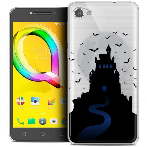 "Coque Crystal Gel Alcatel A5 LED (5.2"") Extra Fine Halloween - Castle Nightmare"