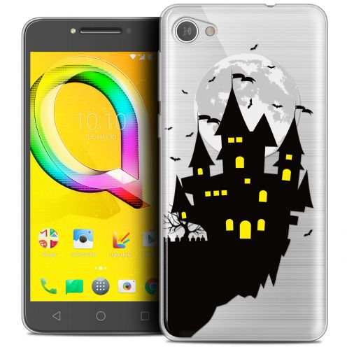 "Coque Crystal Gel Alcatel A5 LED (5.2"") Extra Fine Halloween - Castle Dream"