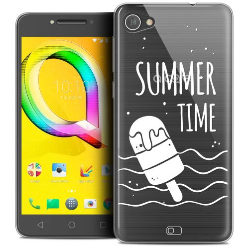 "Coque Crystal Gel Alcatel A5 LED (5.2"") Extra Fine Summer - Summer Time"