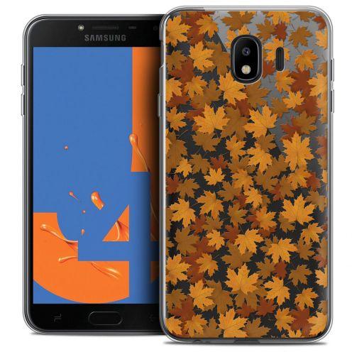 "Coque Crystal Gel Samsung Galaxy J4 2018 J400 (5.5"") Extra Fine Autumn 16 - Feuilles"