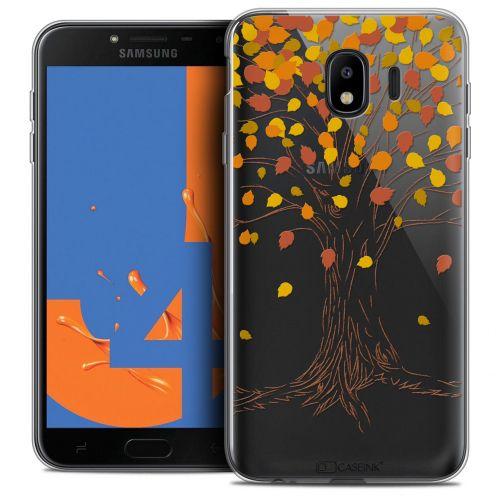 "Coque Crystal Gel Samsung Galaxy J4 2018 J400 (5.5"") Extra Fine Autumn 16 - Tree"