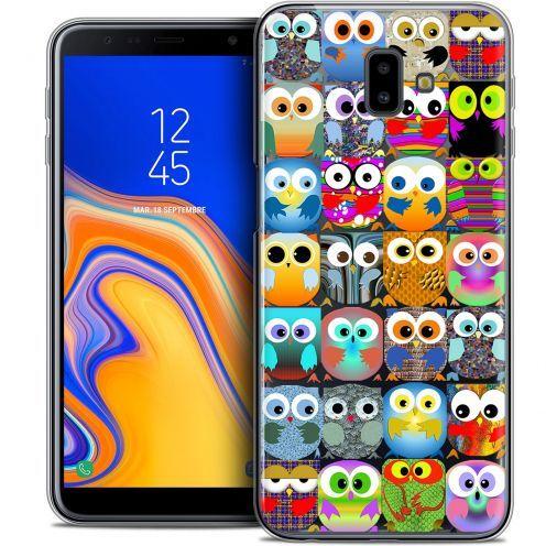 "Coque Crystal Gel Samsung Galaxy J6 Plus J6+ (6.4"") Extra Fine Claude - Hibous"