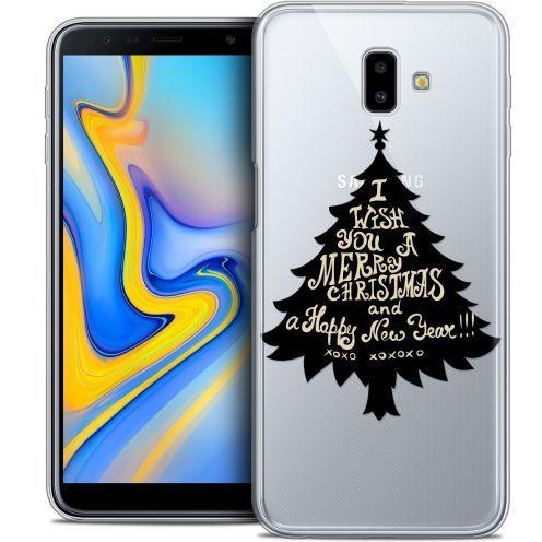 "Coque Crystal Gel Samsung Galaxy J6 Plus J6+ (6.4"") Extra Fine Noël 2017 - XOXO Tree"