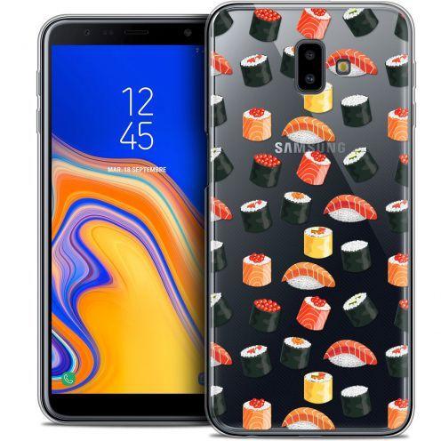 """Coque Crystal Gel Samsung Galaxy J6 Plus J6+ (6.4"""") Extra Fine Foodie - Sushi"""
