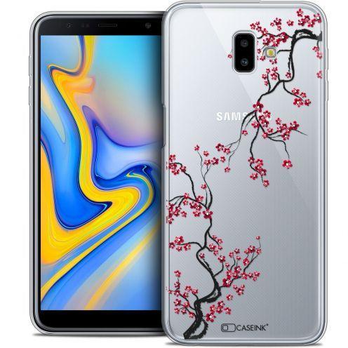 "Coque Crystal Gel Samsung Galaxy J6 Plus J6+ (6.4"") Extra Fine Summer - Sakura"