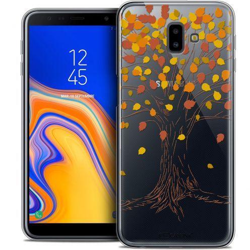 "Coque Crystal Gel Samsung Galaxy J6 Plus J6+ (6.4"") Extra Fine Autumn 16 - Tree"