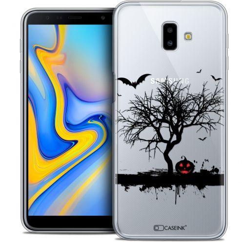 "Coque Crystal Gel Samsung Galaxy J6 Plus J6+ (6.4"") Extra Fine Halloween - Devil's Tree"