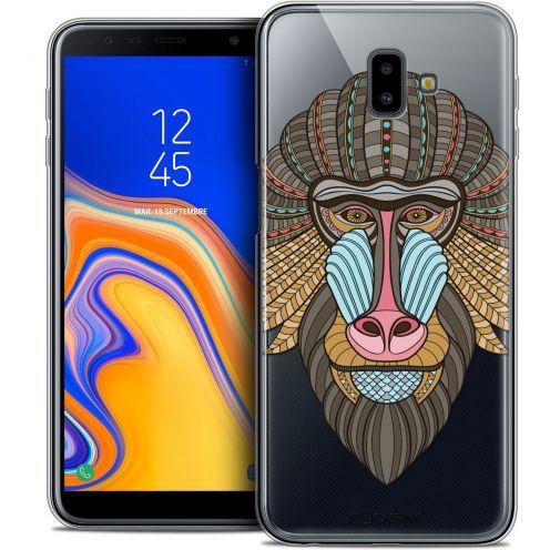 "Coque Crystal Gel Samsung Galaxy J6 Plus J6+ (6.4"") Extra Fine Summer - Babouin"