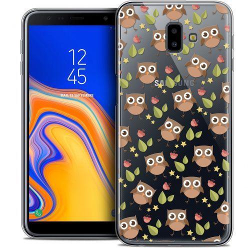 """Coque Crystal Gel Samsung Galaxy J6 Plus J6+ (6.4"""") Extra Fine Summer - Hibou"""