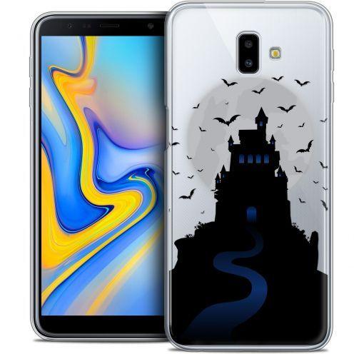"Coque Crystal Gel Samsung Galaxy J6 Plus J6+ (6.4"") Extra Fine Halloween - Castle Nightmare"