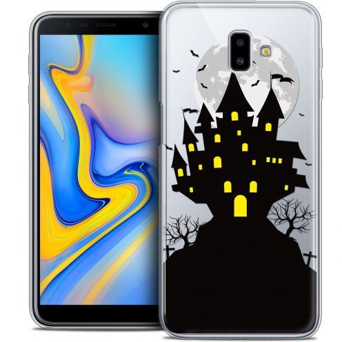 """Coque Crystal Gel Samsung Galaxy J6 Plus J6+ (6.4"""") Extra Fine Halloween - Castle Scream"""