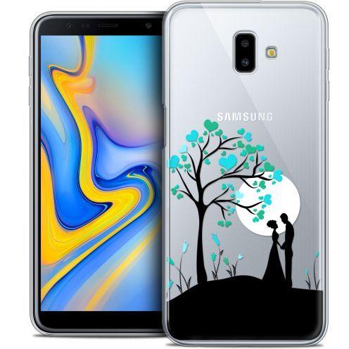 "Coque Crystal Gel Samsung Galaxy J6 Plus J6+ (6.4"") Extra Fine Love - Sous l'arbre"