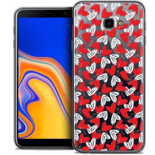 "Coque Crystal Gel Samsung Galaxy J4 Plus J4+ (6"") Extra Fine Love - With Love"