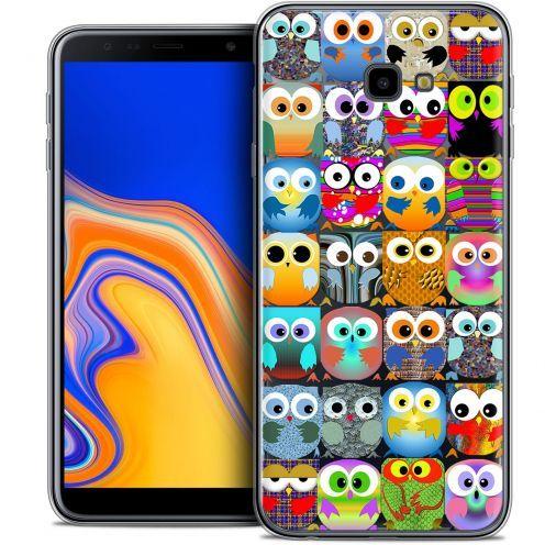"Coque Crystal Gel Samsung Galaxy J4 Plus J4+ (6"") Extra Fine Claude - Hibous"