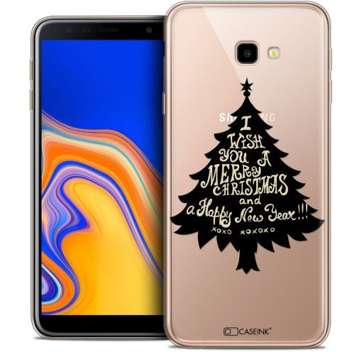 "Coque Crystal Gel Samsung Galaxy J4 Plus J4+ (6"") Extra Fine Noël 2017 - XOXO Tree"