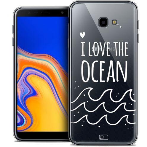 """Coque Crystal Gel Samsung Galaxy J4 Plus J4+ (6"""") Extra Fine Summer - I Love Ocean"""