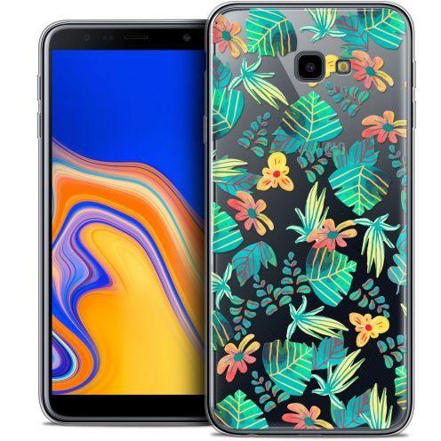"""Coque Crystal Gel Samsung Galaxy J4 Plus J4+ (6"""") Extra Fine Spring - Tropical"""