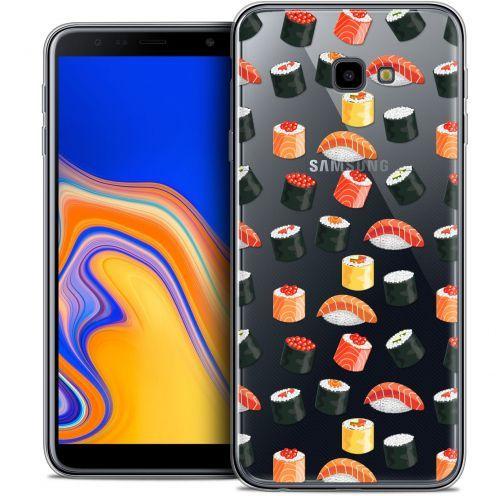 """Coque Crystal Gel Samsung Galaxy J4 Plus J4+ (6"""") Extra Fine Foodie - Sushi"""
