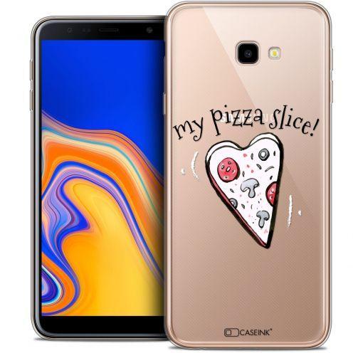 "Coque Crystal Gel Samsung Galaxy J4 Plus J4+ (6"") Extra Fine Love - My Pizza Slice"