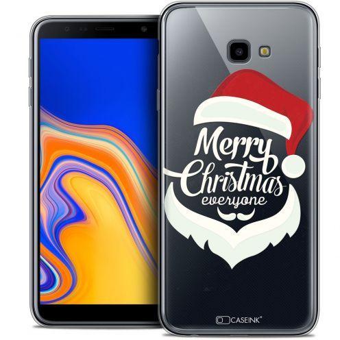 """Coque Crystal Gel Samsung Galaxy J4 Plus J4+ (6"""") Extra Fine Noël 2017 - Merry Everyone"""