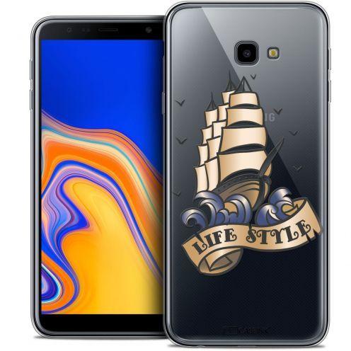 "Coque Crystal Gel Samsung Galaxy J4 Plus J4+ (6"") Extra Fine Tatoo Lover - Life Style"
