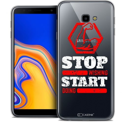 """Coque Crystal Gel Samsung Galaxy J4 Plus J4+ (6"""") Extra Fine Quote - Start Doing"""