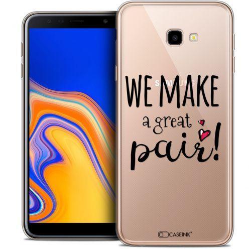 "Coque Crystal Gel Samsung Galaxy J4 Plus J4+ (6"") Extra Fine Love - We Make Great Pair"