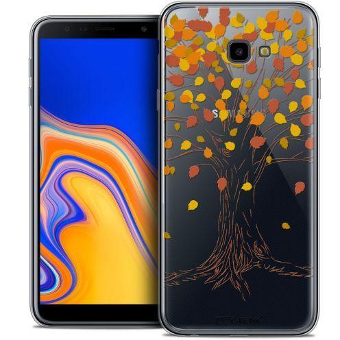 "Coque Crystal Gel Samsung Galaxy J4 Plus J4+ (6"") Extra Fine Autumn 16 - Tree"
