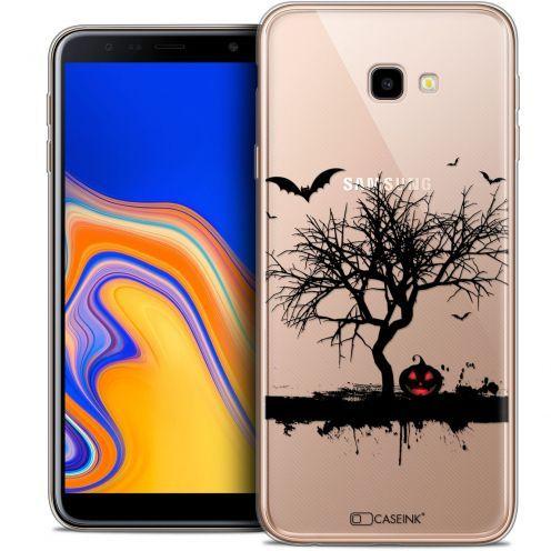 "Coque Crystal Gel Samsung Galaxy J4 Plus J4+ (6"") Extra Fine Halloween - Devil's Tree"