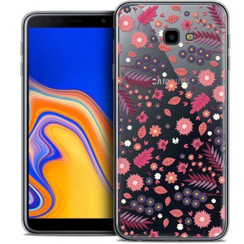 "Coque Crystal Gel Samsung Galaxy J4 Plus J4+ (6"") Extra Fine Spring - Printemps"