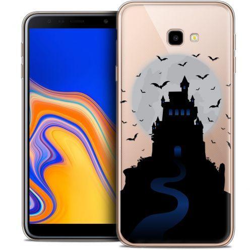 "Coque Crystal Gel Samsung Galaxy J4 Plus J4+ (6"") Extra Fine Halloween - Castle Nightmare"
