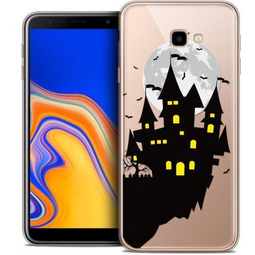 """Coque Crystal Gel Samsung Galaxy J4 Plus J4+ (6"""") Extra Fine Halloween - Castle Dream"""