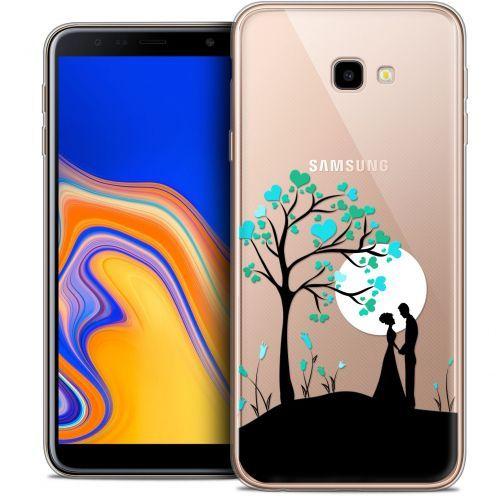 "Coque Crystal Gel Samsung Galaxy J4 Plus J4+ (6"") Extra Fine Love - Sous l'arbre"