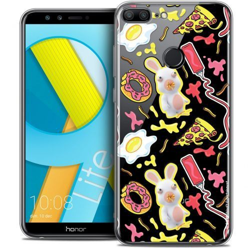 """Coque Gel Huawei Honor 9 LITE (5.7"""") Extra Fine Lapins Crétins™ - Egg Pattern"""
