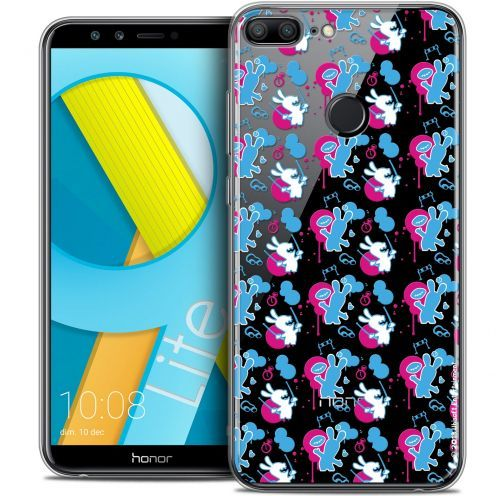"""Coque Gel Huawei Honor 9 LITE (5.7"""") Extra Fine Lapins Crétins™ - Rugby Pattern"""