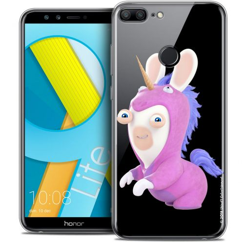 "Coque Gel Huawei Honor 9 LITE (5.7"") Extra Fine Lapins Crétins™ - Licorne"