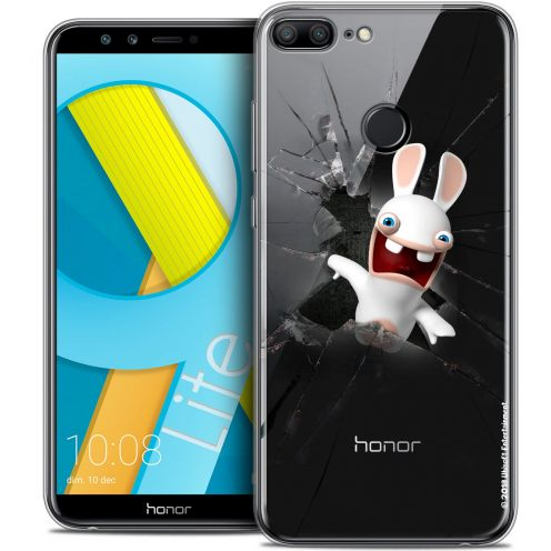 "Coque Gel Huawei Honor 9 LITE (5.7"") Extra Fine Lapins Crétins™ - Breaking Glass"