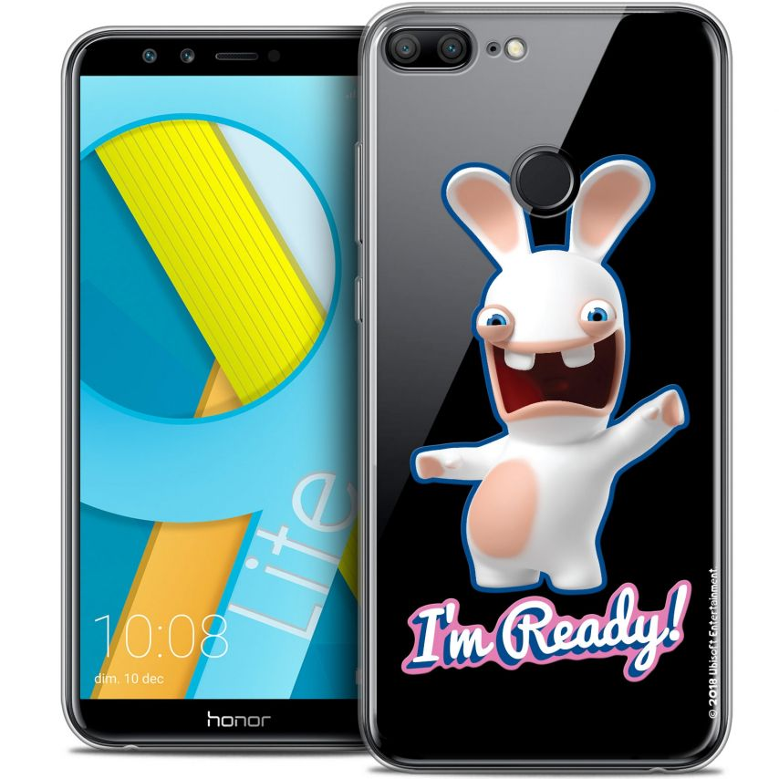 """Coque Gel Huawei Honor 9 LITE (5.7"""") Extra Fine Lapins Crétins™ - I'm Ready !"""