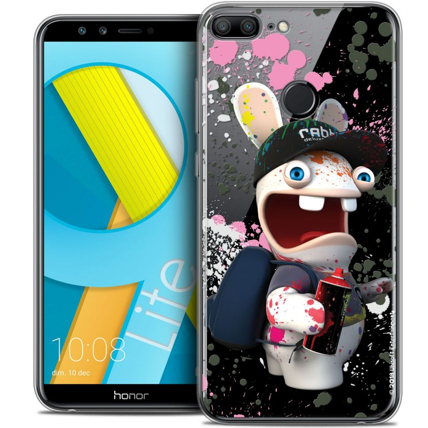 "Coque Gel Huawei Honor 9 LITE (5.7"") Extra Fine Lapins Crétins™ - Painter"
