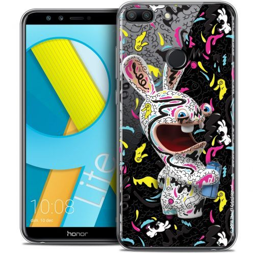 "Coque Gel Huawei Honor 9 LITE (5.7"") Extra Fine Lapins Crétins™ - Tag"