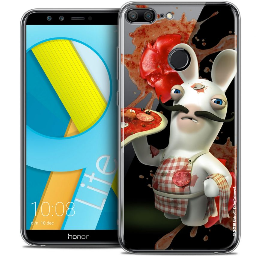 """Coque Gel Huawei Honor 9 LITE (5.7"""") Extra Fine Lapins Crétins™ - Cuisinier"""