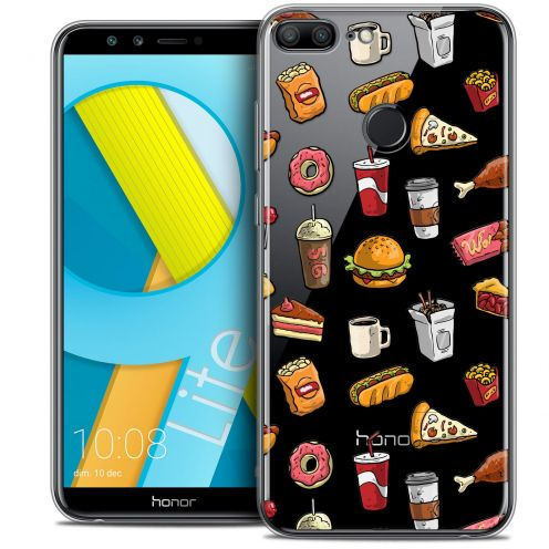"Coque Crystal Gel Huawei Honor 9 LITE (5.7"") Extra Fine Foodie - Fast Food"