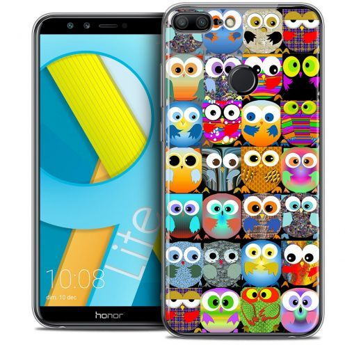 "Coque Crystal Gel Huawei Honor 9 LITE (5.7"") Extra Fine Claude - Hibous"