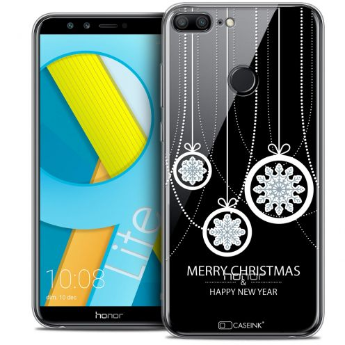 "Coque Crystal Gel Huawei Honor 9 LITE (5.7"") Extra Fine Noël 2017 - Christmas Balls"